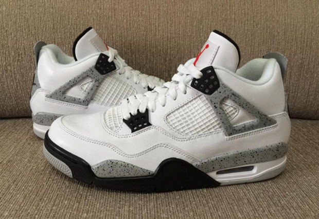 air jordan retro 4 cement 2016 netting