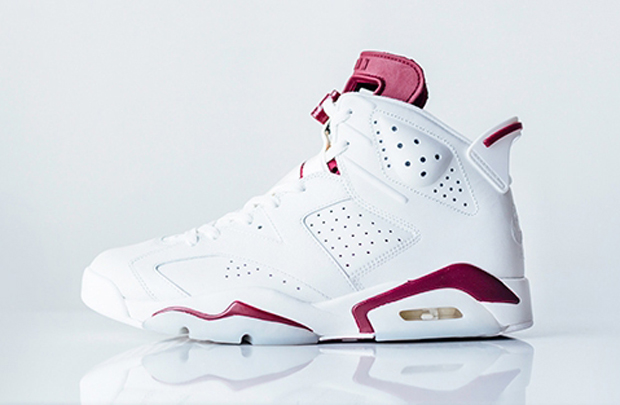 air jordan 6 maroon mens