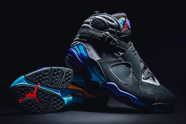 Air Jordan 8 Aqua