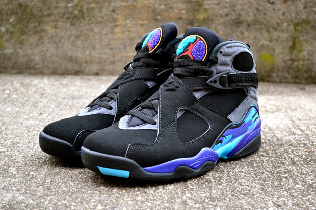 Add Some Air Jordan 8 Aqua To Your Black Friday Air