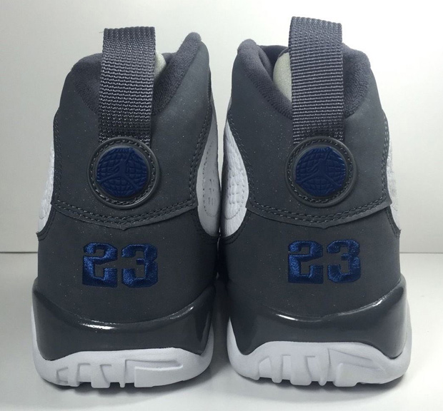 """low priced cefed 33a44 The Daily Jordan: Air Jordan 9 """"French Blue†– 2002 ..."""