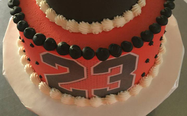 This Birthday Cake Is Two Tiers Of Iconic MJ Air Jordans Release
