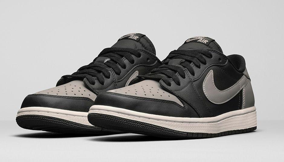 Air Jordan 1 Low Retro Black shoes