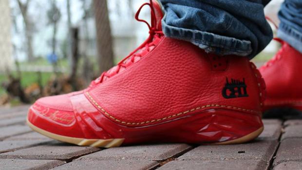 Air Blanc Et Rouge Jordan 23 Chi
