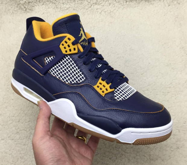 """brand new 4fe2f c8387 Spring will be here before you know it, and that s when Air Jordan 4 """"Dunk  From Above"""" is timed to release. This look introduces gum soles the AJ4  along ..."""