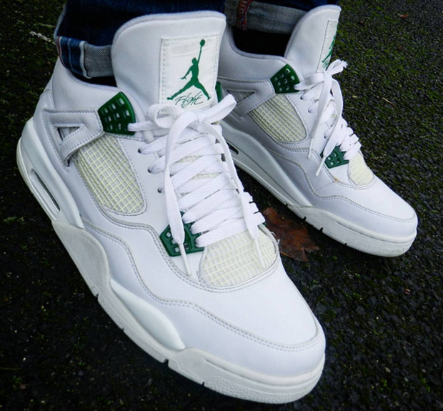 promo code 10fdc 35a06 ... sweden air jordan 4 white classic green 1 ea40d 47be0 ...