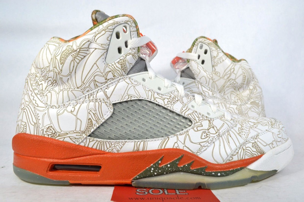what jordan brand started with the air jordan 4 laser pack in 2005 they kept going with the air jord
