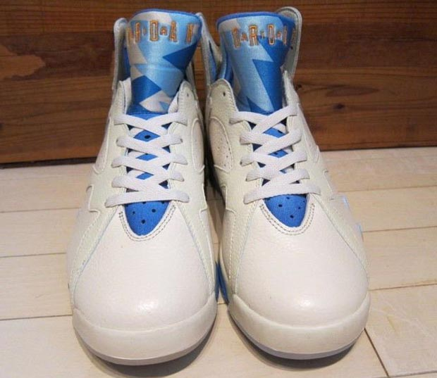 new styles fa6c1 7a559 air jordan 7 pacific blue