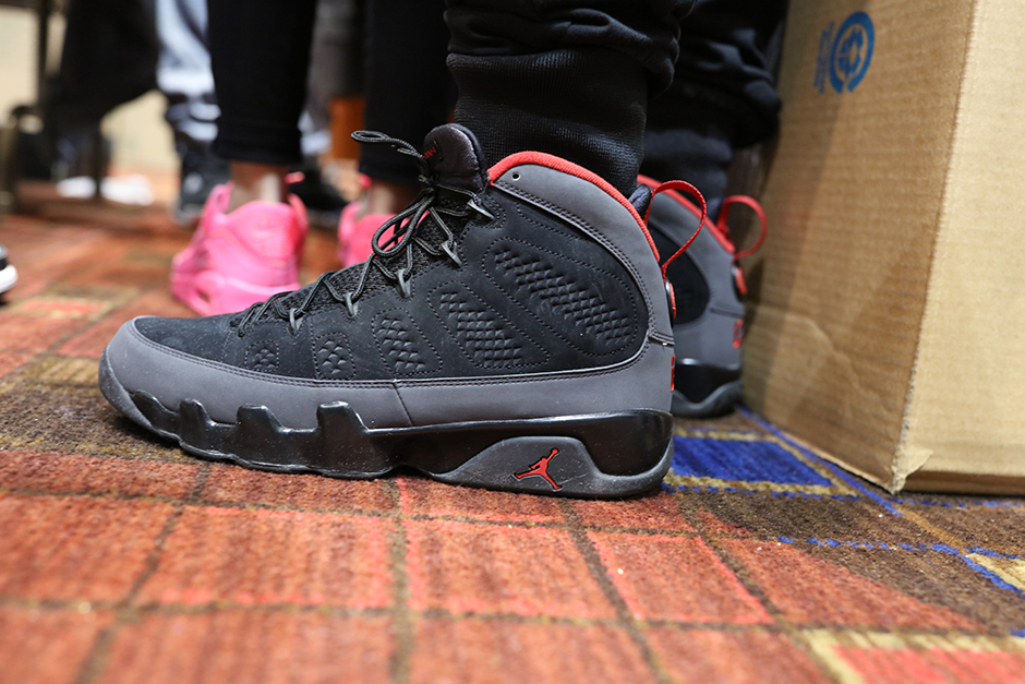 size 40 2f41f e84fb ... free shipping air jordan 9 charcoal on feet 83159 fb7c8