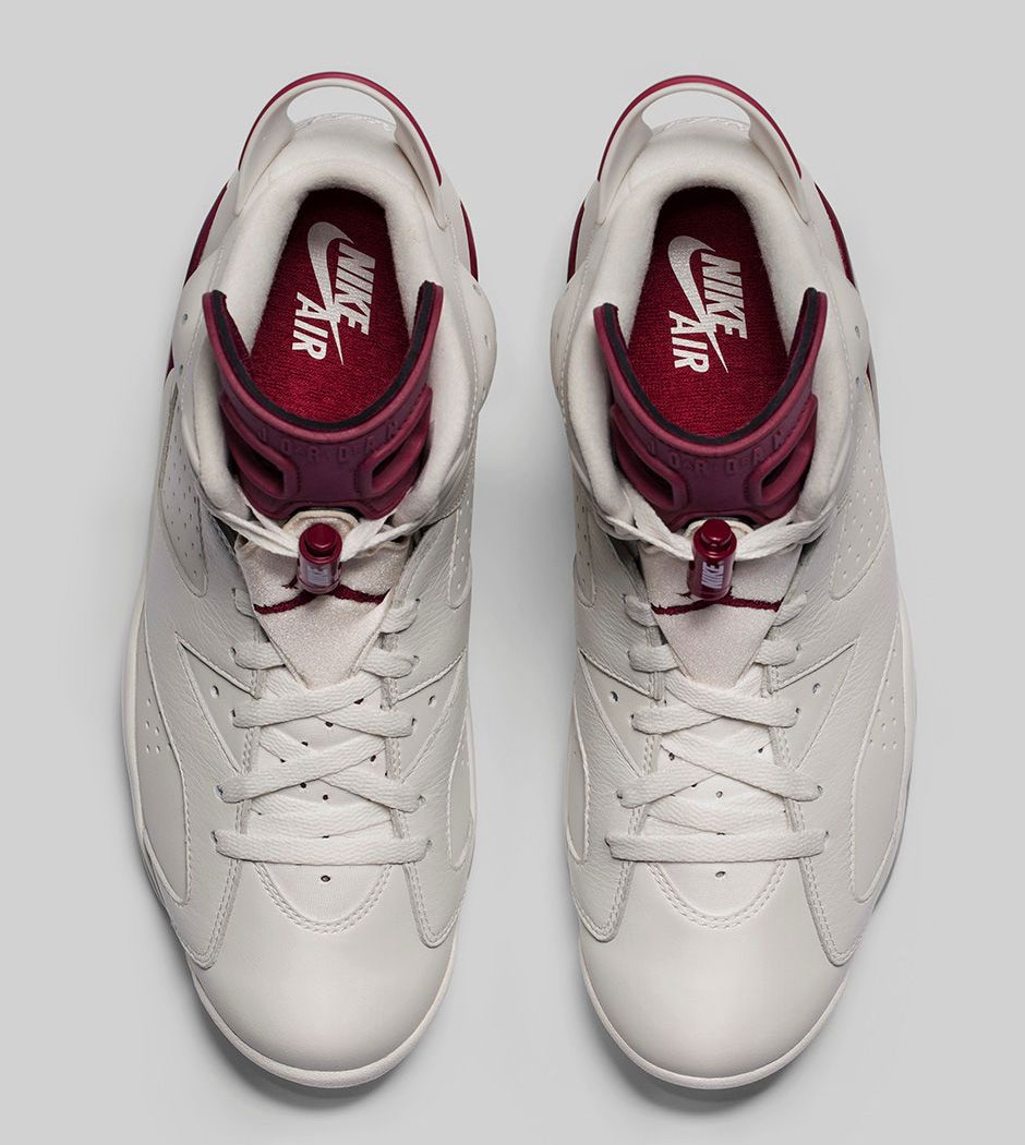 Canada Jordan 6 Rødbrun Og Lang Hylse 6SIUpukK0
