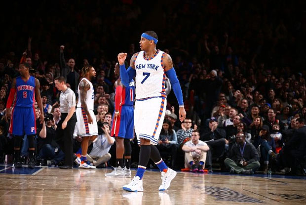 facd59af3dbf Carmelo Anthony s job to lead the Knicks to a winning record is an ongoing  challenge