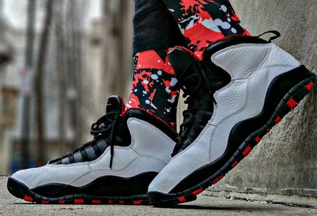 Air Jordan 10 Chicago City Pack Release Date - Sneaker Bar Detroit