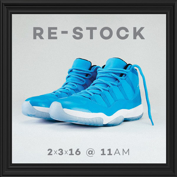 brand new c307d 7e133 ... promo code for 11 legend blue restock nice kicks air jordan xi super  2019 release 5e655