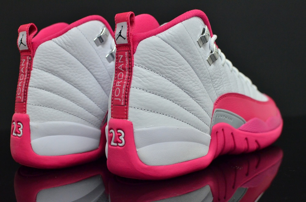 959b01e9376 ... new arrivals air jordan 12 dynamic pink 4 09dfc ef0a4