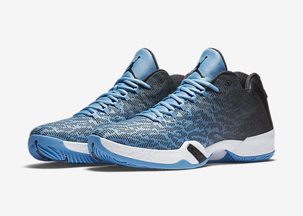 """... of Jordan fans who think Jordan Brand's been slack on releasing player  exclusives might just be satiated with this latest drop. Air Jordan 29 Low  """"UNC""""."""