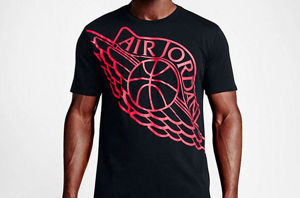 e9ade7bf38053f Jordan Brand is going heavy on the graphic tees as we get 2016 going. But  since we are still in the winter months