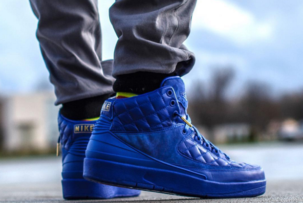 just don air jordan 2 blue leather 1