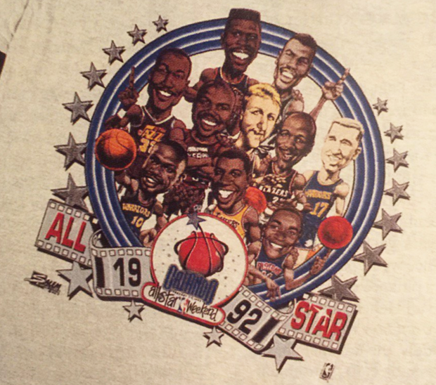 Michael Jordan's Nike Loyalty Kept Him Off The 1992 All Star T-Shirt