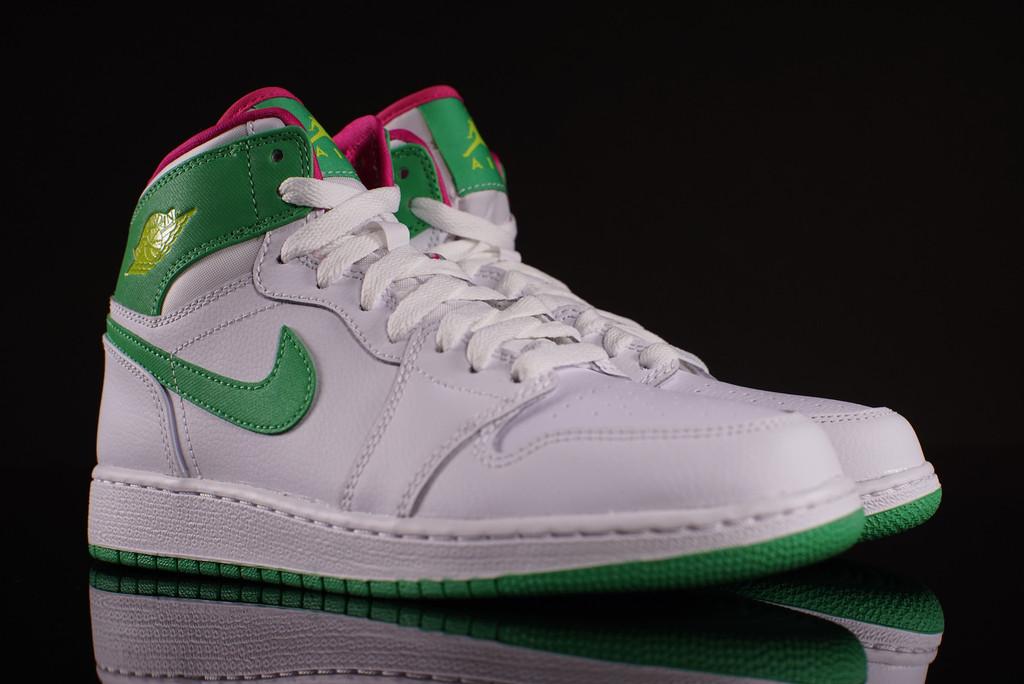 "Michigan Jordan Gear >> Air Jordan 1 GG ""Gamma Green"" - Air Jordans, Release Dates ..."