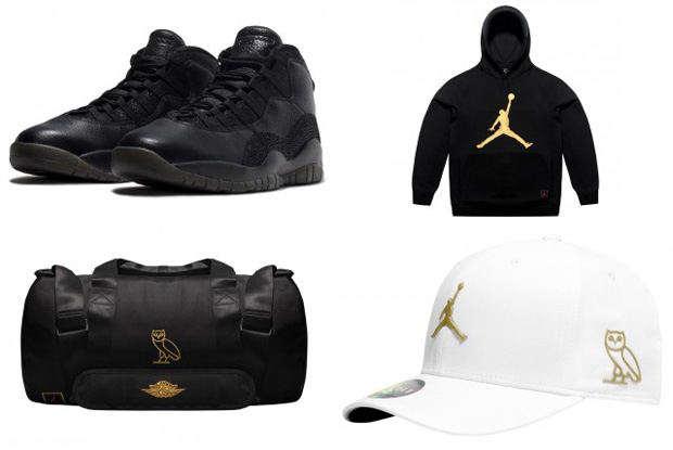 First Look: Air Jordan 10 OVO Collection
