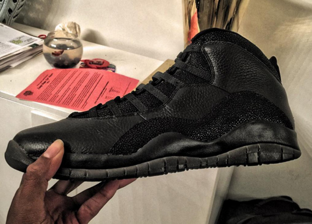 Should Rip Hamilton Wear His OVO Air Jordan 10s Tonight?