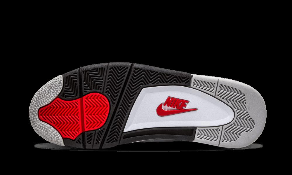 Air Jordan 4 Tamaño Cemento Blanco 12 X8r3IW