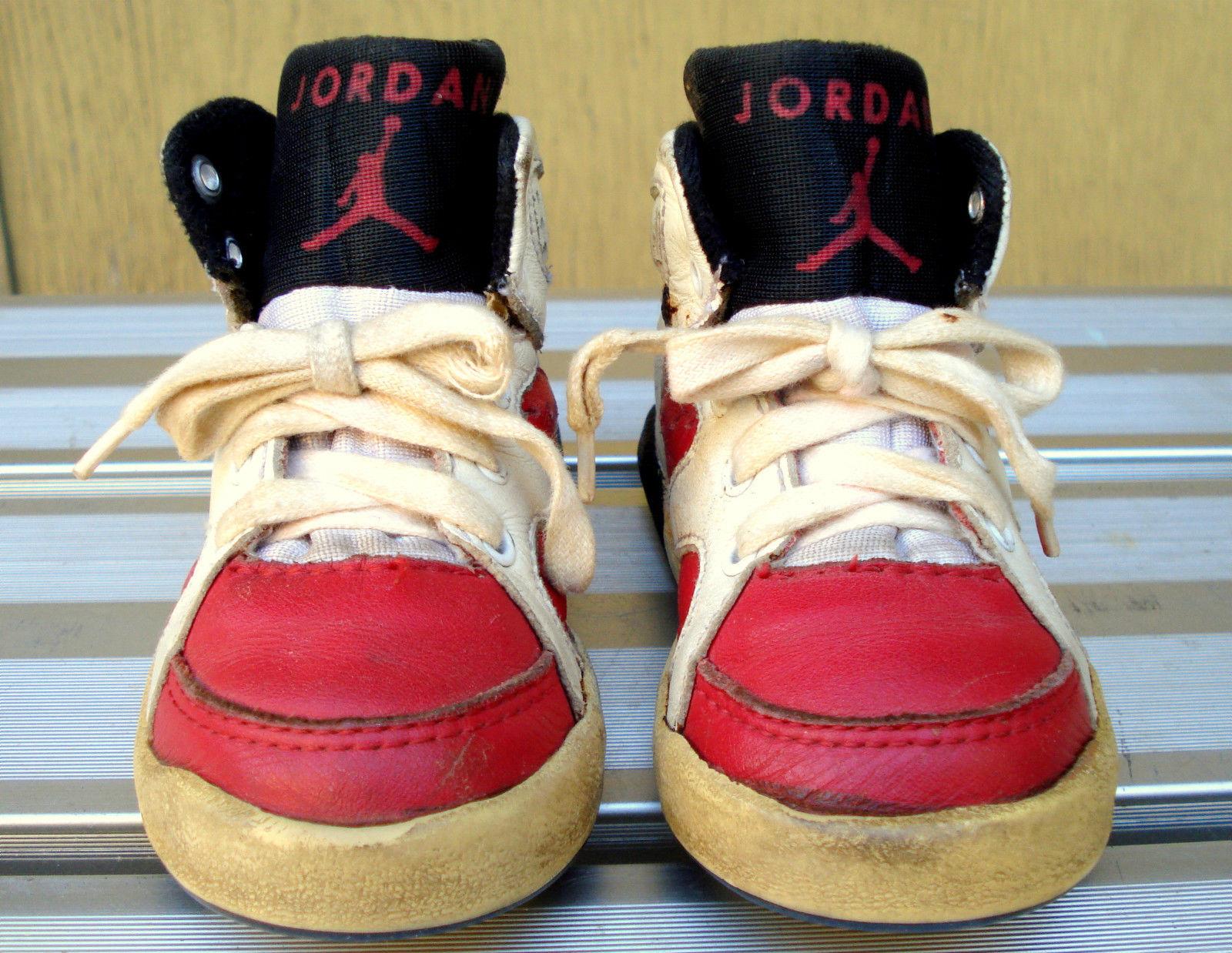 These Baby Air Jordan 6 Carmines Survived 25 Years Air Jordans