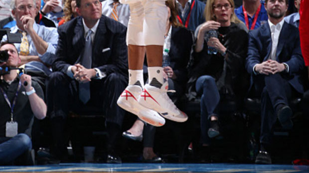 Russell Westbrook Rocks Air Jordan XXX PE Ahead Of Release Day