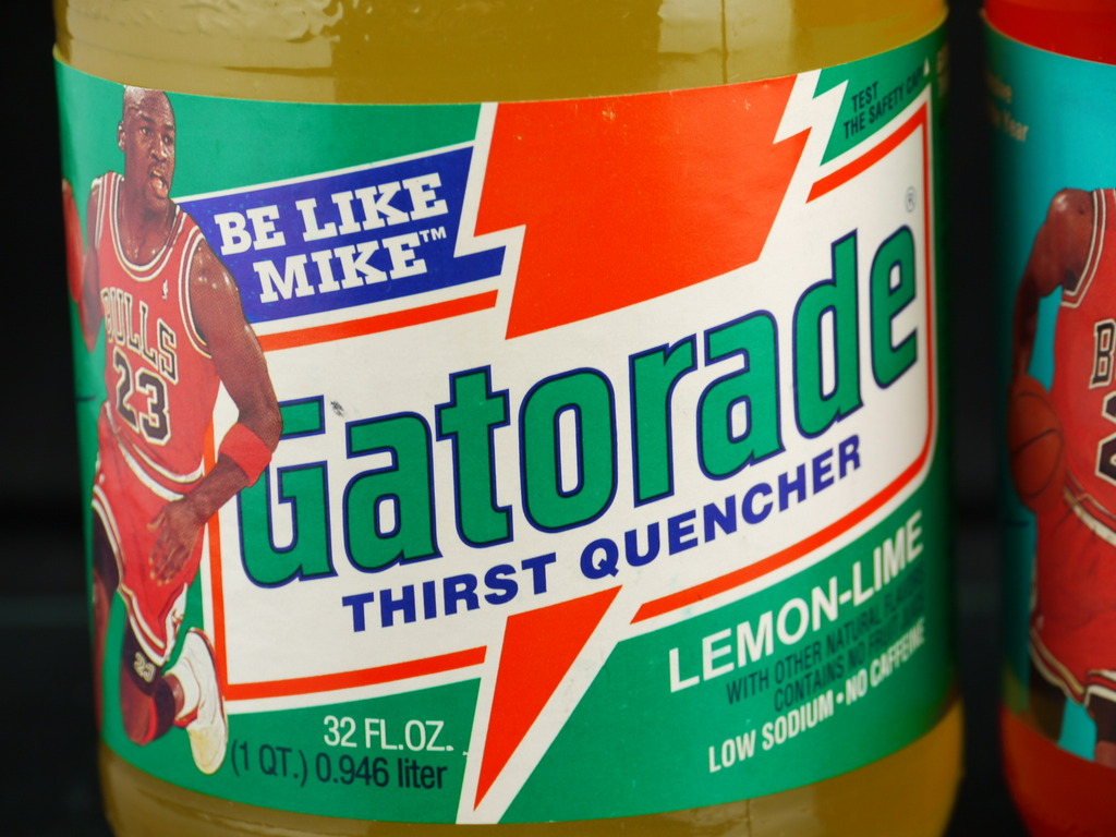 be like mike drink gatorade The most successful advertising campaign in gatorade history is the 1991 be like mike blitz it featured michael jordan of the chicago bulls following the team's nba championship the slogan became a household phrase.