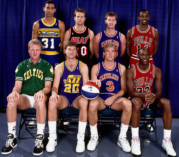 Michael Jordan's Three-Point Contest Appearance Was (Un)forgettable