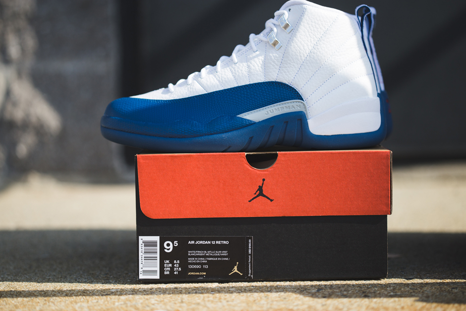 online retailer 24ace 9e2b2 Air Jordan 12 French Blue Archives - Air Jordans, Release Dates   More    JordansDaily.com
