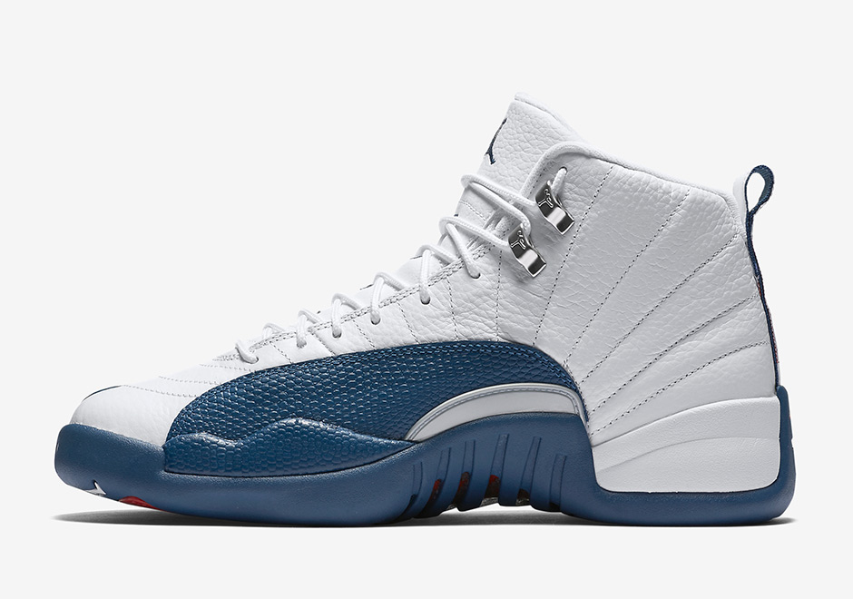 Blue and white 12s release date in Melbourne