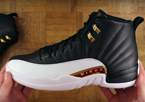 air jordan 12 black and white