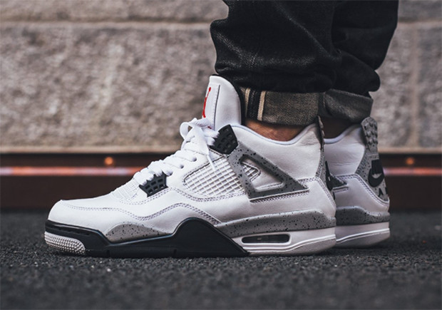 air jordan 4 white cement 1