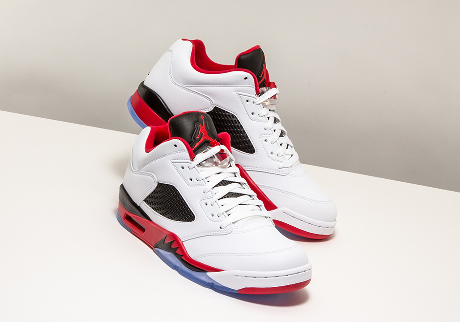 967c3b119ec ... where to buy air jordan 5 low fire red available early at stadium goods air  jordans