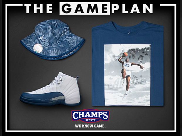 814d6cb43132cd ... good champs sports draws up the air jordan french blue game plan air  jordans release dates ...
