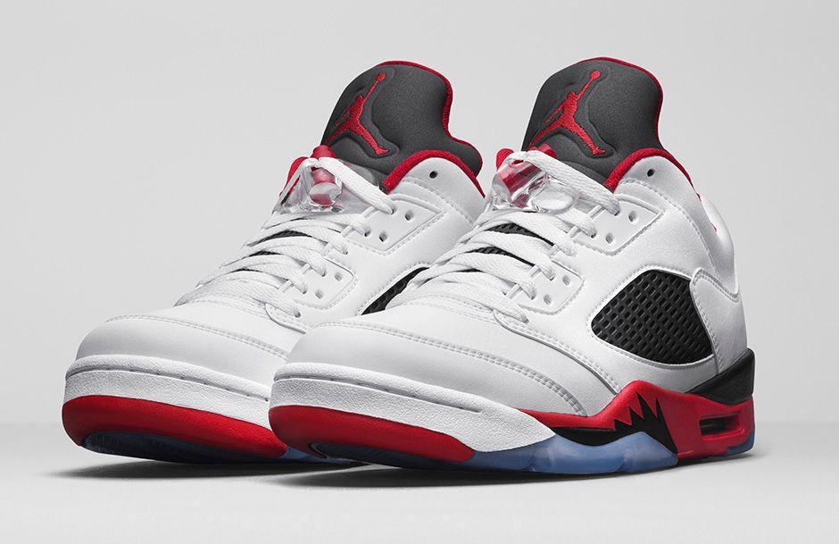 b912b2f1a00 Air Jordan 5 Low Fire Red Archives - Air Jordans, Release Dates & More |  JordansDaily.com