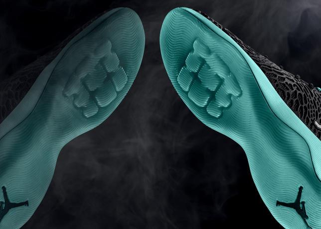 4cce5aceaf927a Size 9.5 Mens Jordan Melo M11 716227 425 Baskeball Sneaker Blue Black