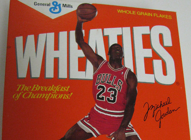Vintage Gear: Michael Jordan First Edition Wheaties Box