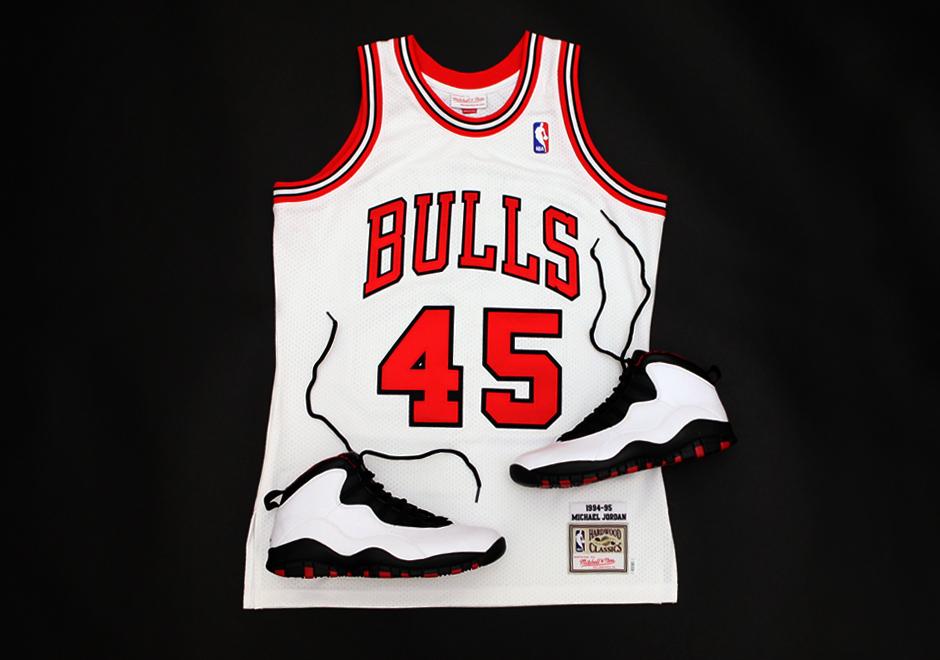 Mitchell & Ness Releasing Michael Jordan's Number 45 Comeback Jersey