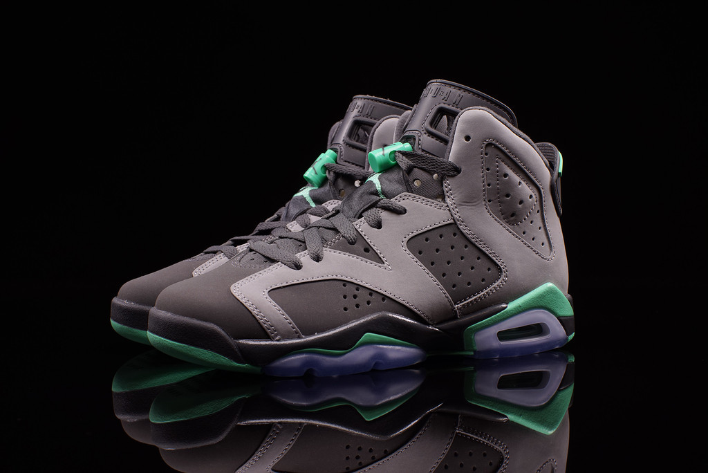 new style f5f7d adae2 ... coupon code for air jordan 6 gs green glow 1 75a93 5421e