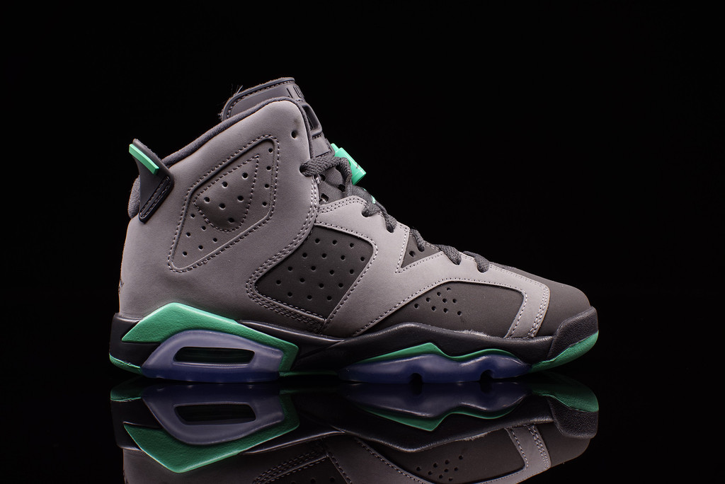 watch 83021 11a0e image is loading air jordan retro 6 gg green glow size