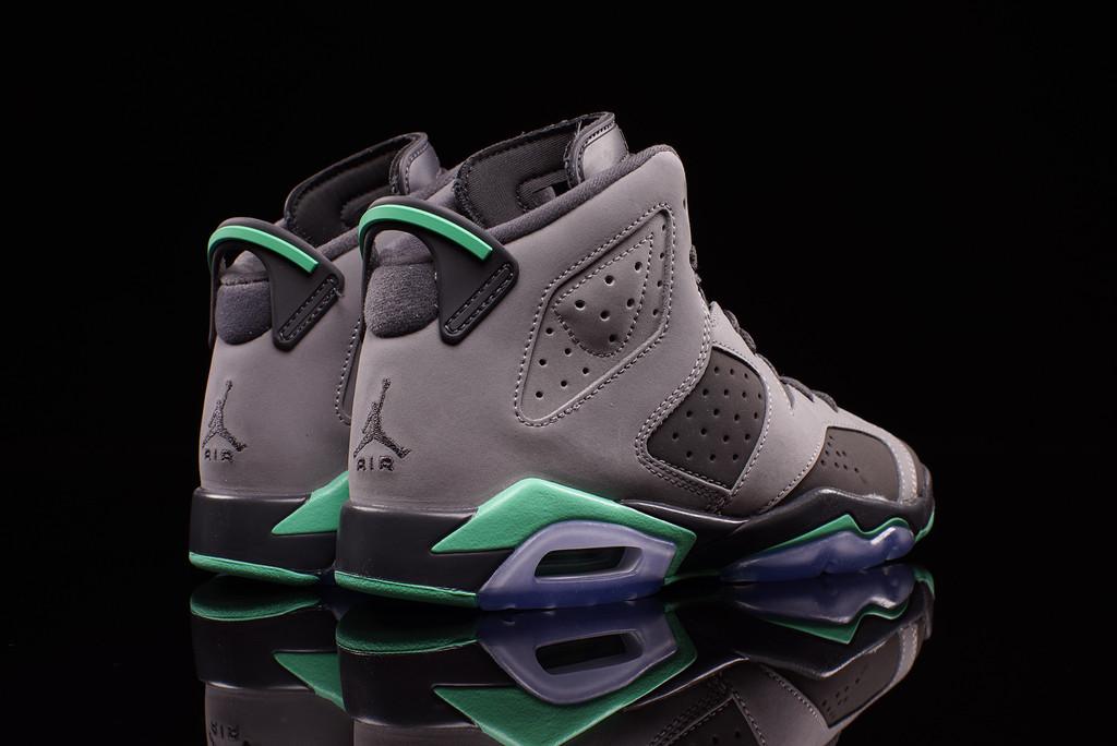 Air Jordan IV Green Glow Gallery | Kicks & Classics |Nike Jordan Glow