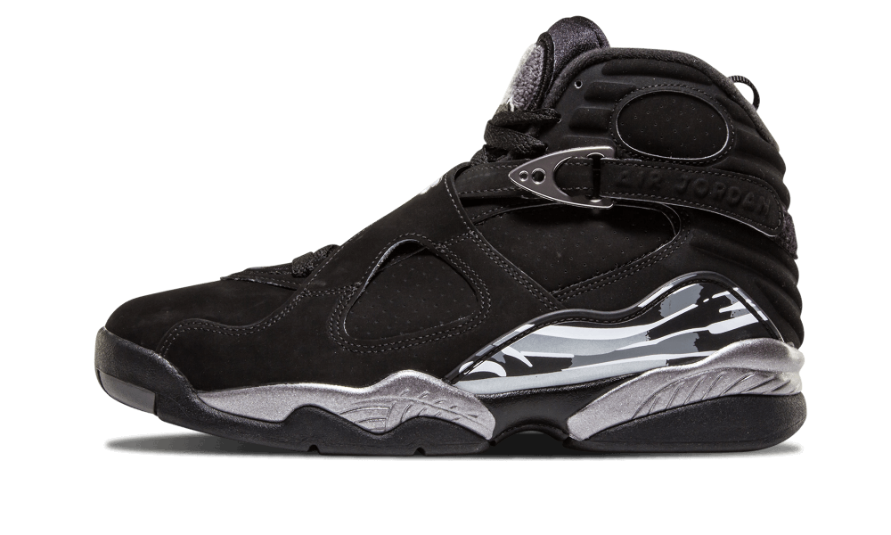 new style 84613 b815c air jordan 8 chrome Air Jordan 8 VIII Retro Chrome Black White Graphite ...