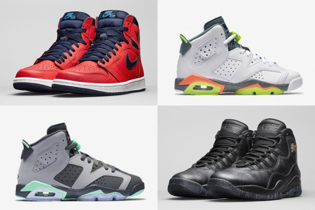 Air Jordan Release Rundown - April 30th, 2016