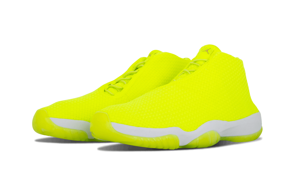"Not sure there s a brighter colorway in the universe than the Jordan Future  ""Volt"" that dropped in 2014. Jordan Brand not only brought woven uppers to  the ... 2bc50fca875e"