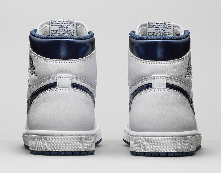 """nike cortez base - Air Jordan 1 Retro High OG """"Metallic Navy"""" Official Photos - Air ..."""