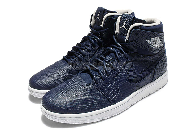 If you like snakeskin on your kicks, Air Jordan 1 Nouveau is one of the  best options going. This remixed version with a molded toe, inset Swooshes,  ...