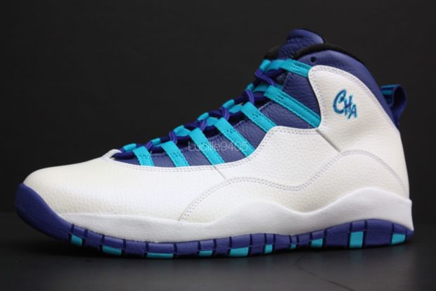 air jordan 10 blue and white