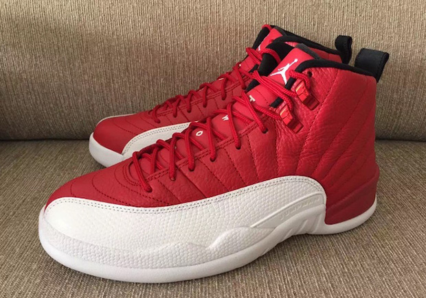 """b60e462a35c Air Jordan 12 """"Gym Red"""" Is Ready To Celebrate 4th Of July — Sneaker Kat"""
